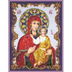 Набор для вышивания бисером Изящное Рукоделие БП-135 Богородица