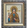 Набор для вышивания бисером Б-1076 Икона святой мученицы Софии