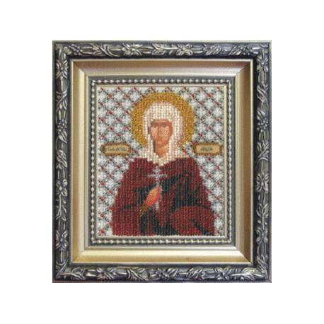 Набор для вышивания бисером Б-1080 Икона святой мученицы Лидии