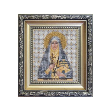 Набор для вышивания Б-1071 Икона святой прп.мученицы Елисаветы