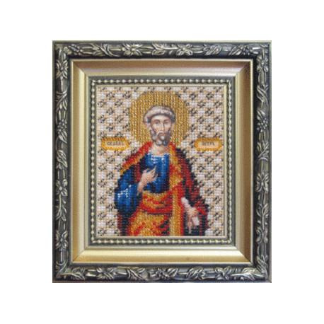 Набор для вышивания бисером Б-1050 Икона апостол Петр фото