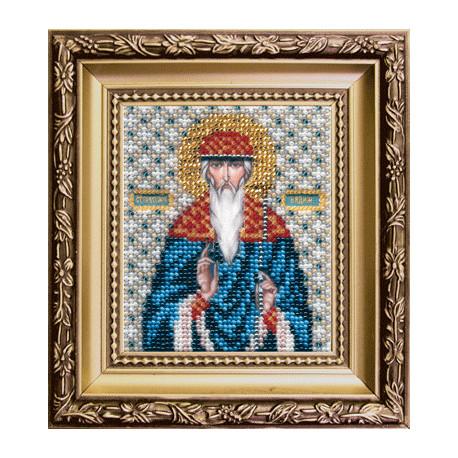 Набор для вышивания бисером Б-1141 Икона св.прмч.Вадима фото