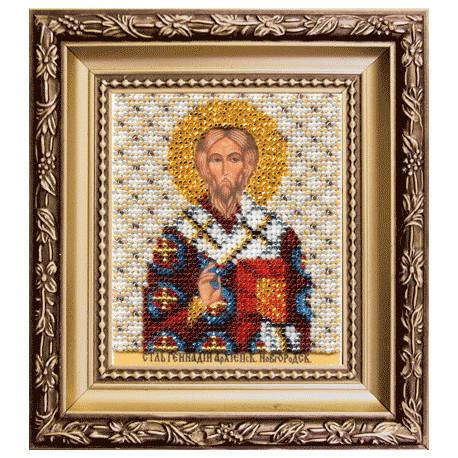 Набор для вышивания Б-1124 Икона св.архиеп.Новгород. Геннадия