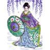 Набор для вышивания Design Works 2551 Garden Geisha фото