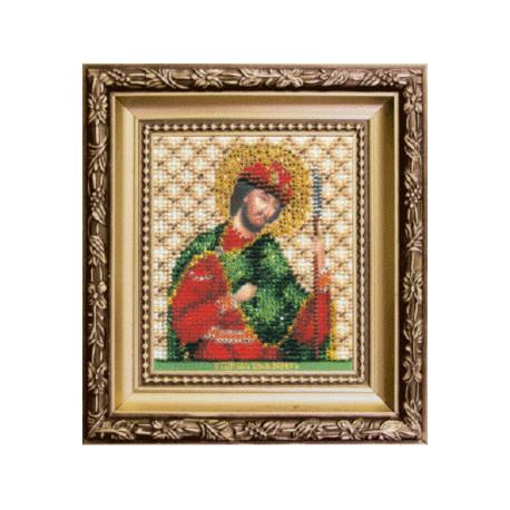 Набор для вышивания бисером Б-1140 Икона св.блгв.князя Бориса
