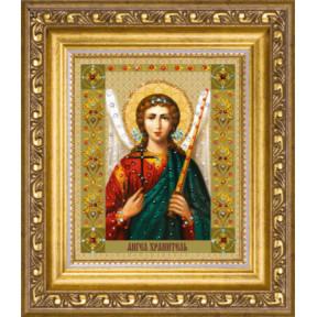 """Набор для изготовления картины со стразами Чарівна Мить """"Икона Ангела Хранителя""""  КС-125"""