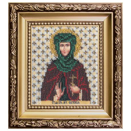 Набор для вышивания бисером Б-1098 Икона св.мученицы Евгении