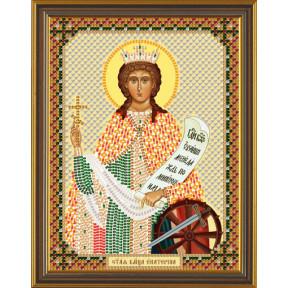 Набор для вышивания бисером Нова Слобода С-6152 Св.Вмч.Екатерина
