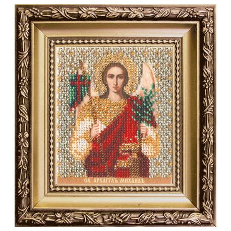 Набор для вышивания бисером Б-1148 Икона св.архангела Михаила