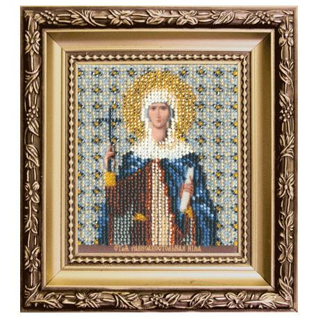 Набор для вышивания бисером Б-1144 Икона св.равноап. Нины фото