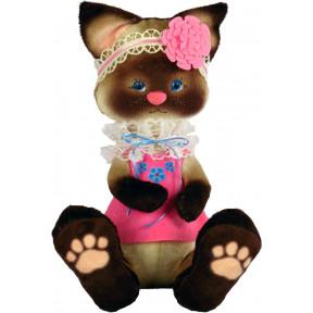 Набор для шитья мягкой игрушки ZooSapiens Сиамский котенок М4009