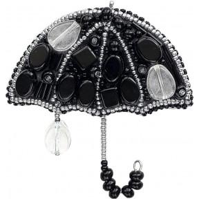 """Набор для изготовления броши Crystal Art """"Вечерний дождик"""" БП-203"""