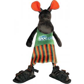Набор для шитья мягкой игрушки ZooSapiens Бегемотик ММ3002 фото