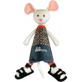Набор для шитья мягкой игрушки ZooSapiens Белая мышка ММ3014