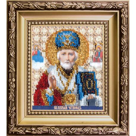 Набор для вышивания Чарівна Мить Б-1120 Икона святителя Николая