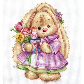 """Набор для вышивки крестом Алиса """"Зайка Ми. Весна""""  0-193"""