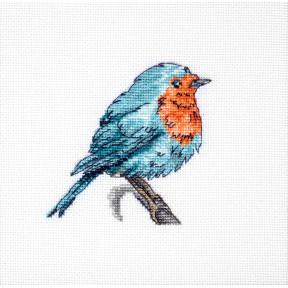 Набор для вышивки крестом Luca-S Синяя птица B1167