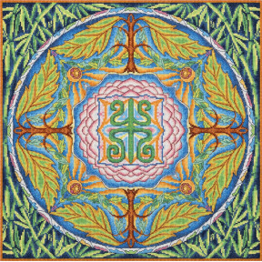 """Набор для вышивки крестом Panna """"Мандала. Здоровье"""" СО-1856"""
