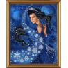 Набор для вышивания бисером Нова Слобода НР-3022 Зимняя Ночь