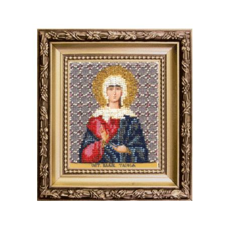 Набор для вышивания бисером Б-1190 Икона св.блж.Таисии фото