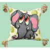 Набор для вышивки подушки Чарівна Мить РТ-103 Слоник фото
