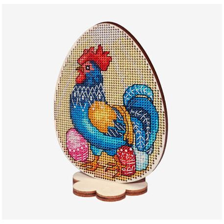Набор для вышивки крестом Alisena Пасхальная -курочка– на подставке 5512-А