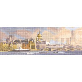 Схема для вышивания Heritage Crafts London Skyline  HC673