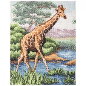 Набор для вышивания Anchor Giraffe PCE965