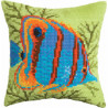 Набор для вышивки подушки Чарівна Мить РТ-165 Яркая рыбка фото