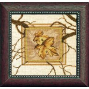 Набор для вышивки крестом Чарівна Мить СТ-23 Кленовый лист
