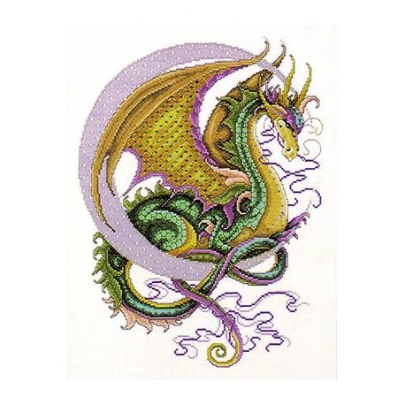 Набор для вышивания Design Works 2717 Celestial Dragon фото