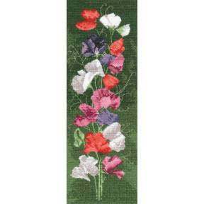 Набор для вышивания крестом Heritage Crafts Sweet Pea H515