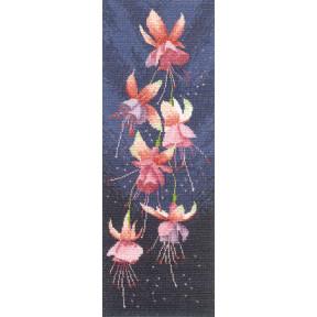 Набор для вышивания крестом Heritage Crafts Fuchsia H535
