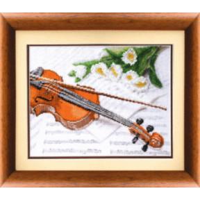Набор для вышивки крестом Чарівна Мить М-42 Скрипка
