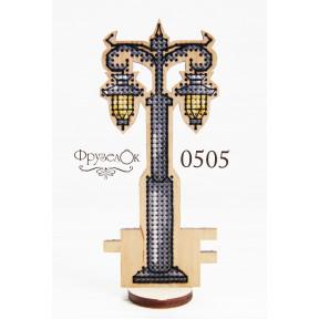 """Набор для вышивки крестом на деревянной основе ФрузелОк """"Фонарь"""" 0505"""