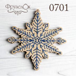 """Набор для вышивки крестом на деревянной основе ФрузелОк """"Нежность"""" 0701"""