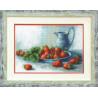 Набор для вышивки Чарівна Мить А-157 Клубника со сливками фото