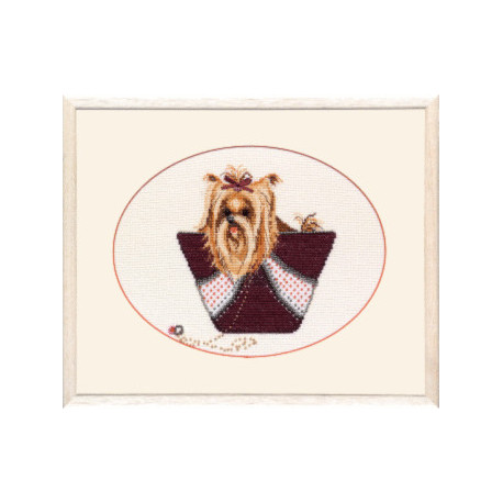 Набор для вышивки крестом Чарівна Мить М-83 Софи фото
