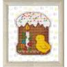 Набор для вышивки крестом Овен Куличик 1169