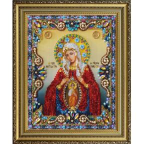 """Набор для вышивания бисером Картины Бисером Икона """"Святой великомученик Георгий Победоносец Р-400"""