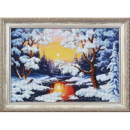 Набор для вышивания Магия Канвы Б-079 Зимняя сказка фото