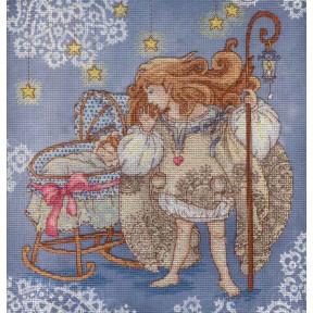 Набор для вышивки крестом МП Студия Оберегая детский сон РК-513