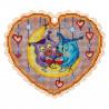 Набор для вышивки крестом Alisena Улитка 5552