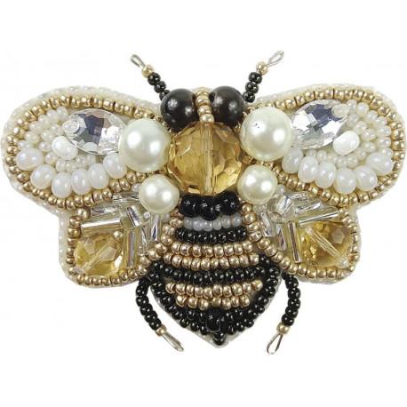 """Набор для изготовления броши Crystal Art """"Пчёлка"""" БП-221"""