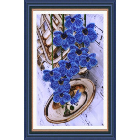 Набор для вышивания Картины Бисером Р-069 Цветочная фантазия-3