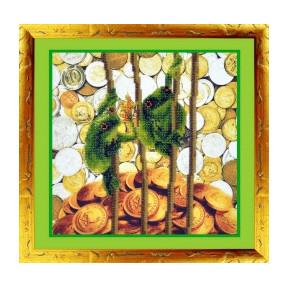 Набор для вышивания Картины Бисером Р-046 Капитал