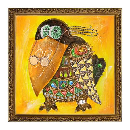 Набор для вышивания бисером Нова Слобода НК- 2181 Кар Клуша фото