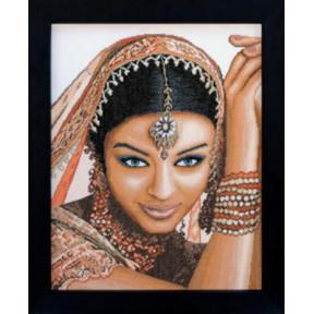 """Набор для вышивания Lanarte Indian Model """"Индианка"""" PN-0008301"""