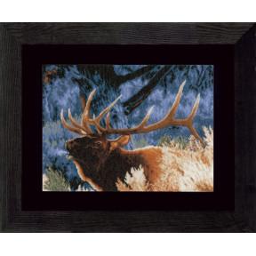 """Набор для вышивания Lanarte Red Deer at Dawn """"Благородный олень на закате"""" PN-0021833"""