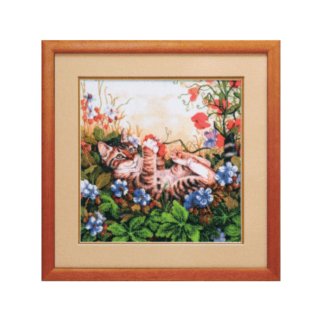 Набор для вышивания Чарівна Мить Б-522 Цветочная поляна фото